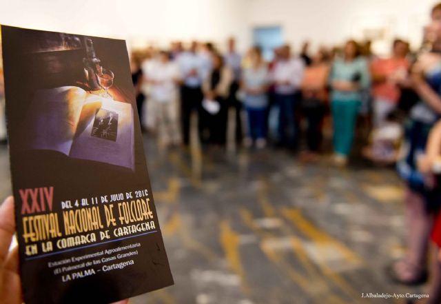 Cultura y música protagonizarán el XXIV Festival Nacional de Folclore Comarca de Cartagena - 3, Foto 3