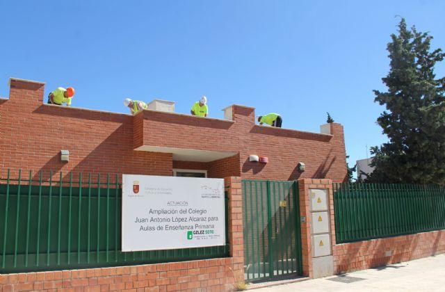 Comienza la ampliación del colegio Juan Antonio López Alcaraz de Puerto Lumbreras - 1, Foto 1