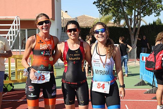 Andrea García gana el Triatlón de la Mujer, Foto 1