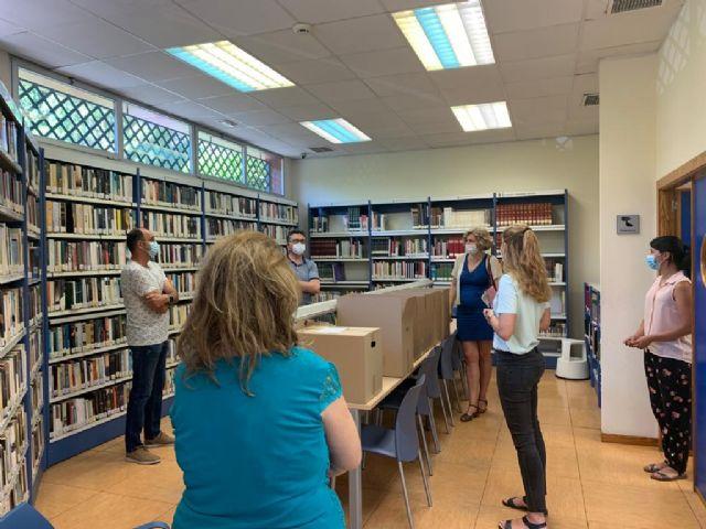 La Biblioteca José Saramago retoma el servicio presencial con el préstamo y devolución de libros - 2, Foto 2