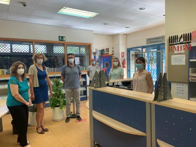 La Biblioteca José Saramago retoma el servicio presencial con el préstamo y devolución de libros - 3, Foto 3