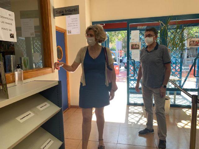 La Biblioteca José Saramago retoma el servicio presencial con el préstamo y devolución de libros - 4, Foto 4