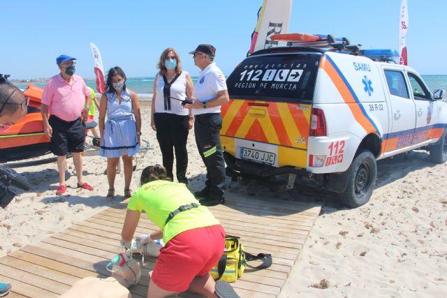 Comienza el servicio de vigilancia en las Playas del Mar Menor con nuevas normas de seguridad y prevención - 1, Foto 1