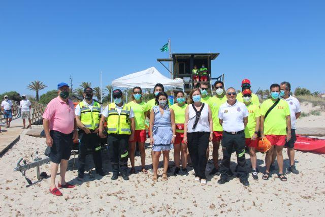Comienza el servicio de vigilancia en las Playas del Mar Menor con nuevas normas de seguridad y prevención - 2, Foto 2