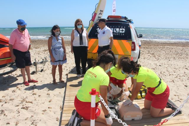 Comienza el servicio de vigilancia en las Playas del Mar Menor con nuevas normas de seguridad y prevención - 3, Foto 3