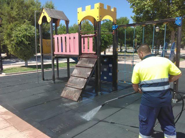 San Pedro del Pinatar pone a punto más de 40 parques y zonas de juego infantiles para su reapertura - 1, Foto 1