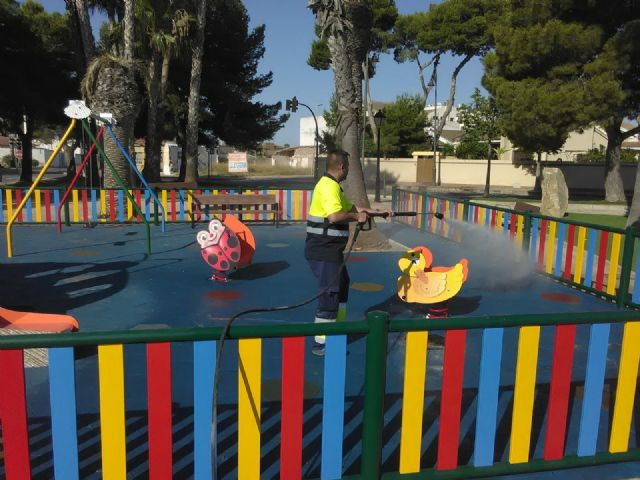 San Pedro del Pinatar pone a punto más de 40 parques y zonas de juego infantiles para su reapertura - 2, Foto 2