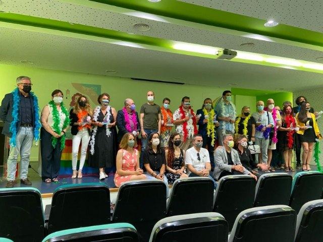 [El Ayuntamiento de Totana recibe uno de los premios de la X Gala del Orgullo Cartagenero