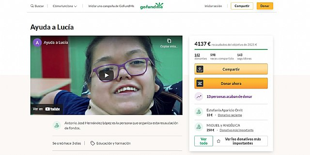Éxito en una campaña de crowdfunding para que una menor tetrapléjica pueda acceder a un sistema de ordenador que controla con la mirada - 1, Foto 1