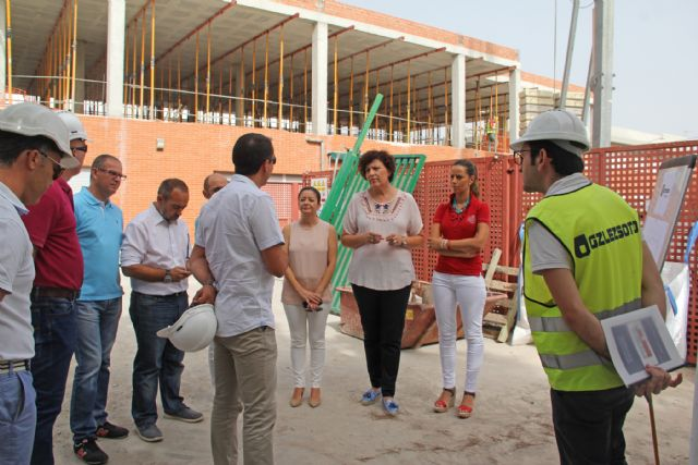 En marcha las obras de ampliación delcolegioJuanAntonioLópez Alcaraz de Puerto Lumbreras - 2, Foto 2