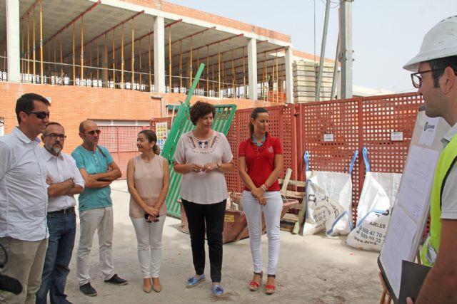 En marcha las obras de ampliación delcolegioJuanAntonioLópez Alcaraz de Puerto Lumbreras - 3, Foto 3
