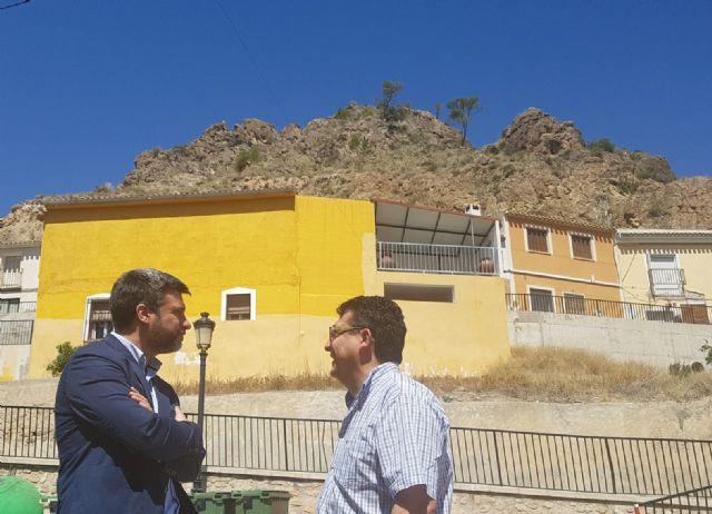 El PSOE exige actuaciones urgentes para proteger a las familias de Ojós, cuyas viviendas están amenazadas por desprendimientos de rocas y humedales - 1, Foto 1