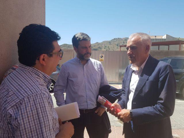 El PSOE exige actuaciones urgentes para proteger a las familias de Ojós, cuyas viviendas están amenazadas por desprendimientos de rocas y humedales - 2, Foto 2