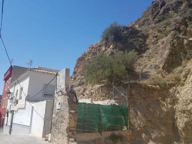 El PSOE exige actuaciones urgentes para proteger a las familias de Ojós, cuyas viviendas están amenazadas por desprendimientos de rocas y humedales - 4, Foto 4