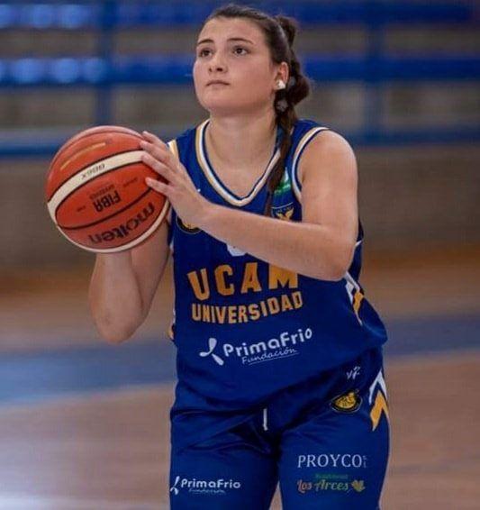 Alejandra Sánchez, del UCAM Primafrio Jairis, es convocada por la Selección Española U18F - 1, Foto 1