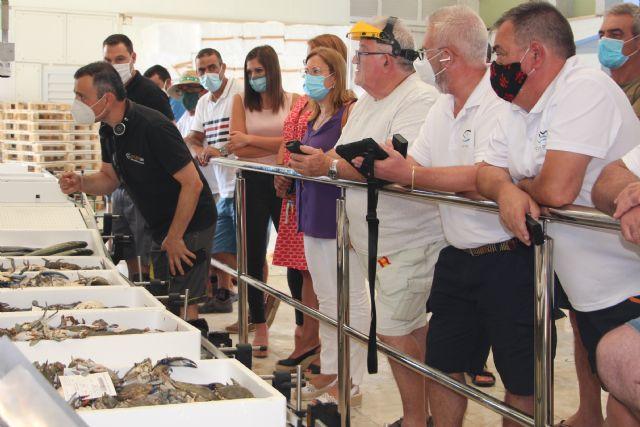 La Lonja de pescado de Lo Pagán se moderniza con un nuevo sistema de subasta automatizada - 1, Foto 1
