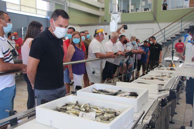 La Lonja de pescado de Lo Pagán se moderniza con un nuevo sistema de subasta automatizada - 3, Foto 3