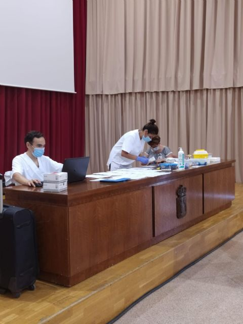 El Ayuntamiento de Puerto Lumbreras sigue realizando test COVID-19 a sus empleados municipales - 1, Foto 1