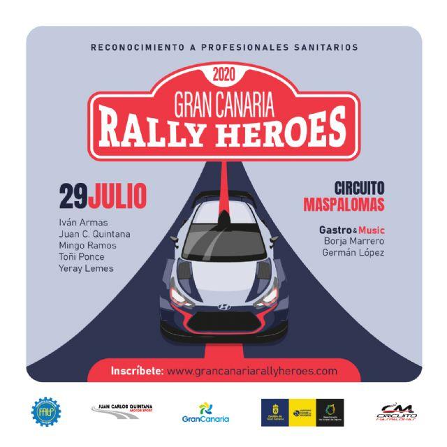 Más de un centenar de profesionales sanitarios inscritos para el Gran Canaria Rally Héroes 2020 - 1, Foto 1