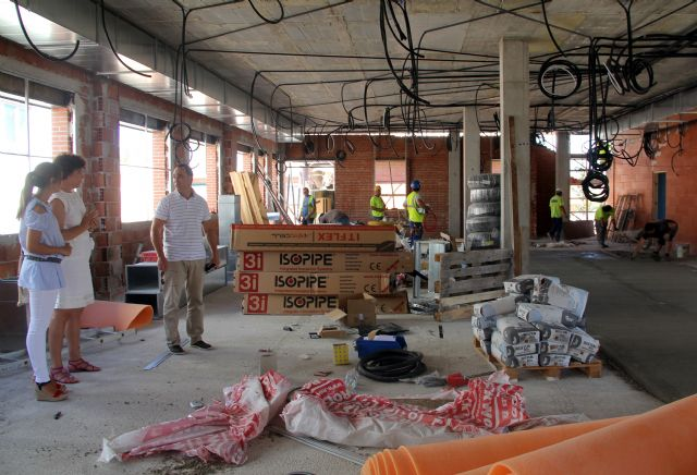 El Ayuntamiento ejecuta obras de mejora en todos los colegios de Puerto Lumbreras - 2, Foto 2