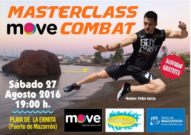 El pr�ximo s�bado Move impartir� una Master Class de Combat en la Playa de la Ermita en el Puerto de Mazarr�n, Foto 1