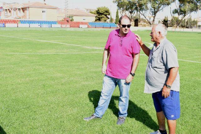 Deportes mejora el estado del césped del estadio municipal ´Pedro Méndez´ - 2, Foto 2