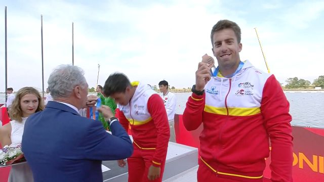 Sete Benavides, primera medalla con sello UCAM en el Campeonato del Mundo de piragüismo - 1, Foto 1