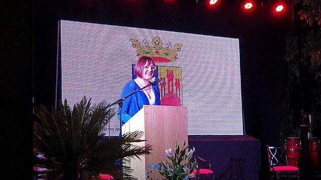 La vicepresidenta del Gobierno, Isabel Franco pregonó las fiestas patronales de Albudeite - 1, Foto 1