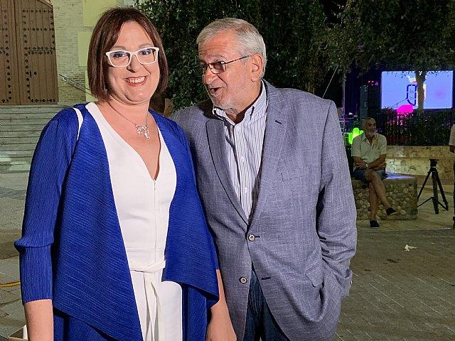 La vicepresidenta del Gobierno, Isabel Franco pregonó las fiestas patronales de Albudeite - 2, Foto 2