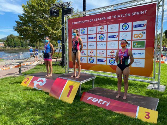 Natalia Hidalgo, subcampeona de España de Triatlón Sprint Júnior, y Laura Durán, bronce en Sub23 - 1, Foto 1
