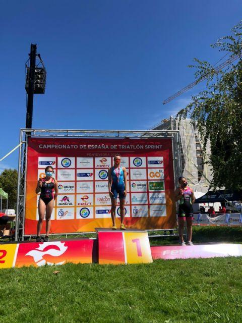 Natalia Hidalgo, subcampeona de España de Triatlón Sprint Júnior, y Laura Durán, bronce en Sub23 - 2, Foto 2