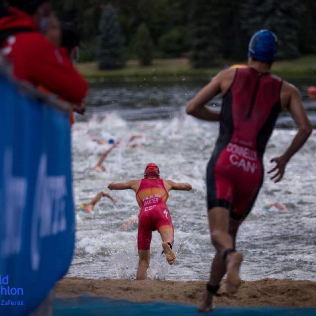 Sergio Baxter y Natalia Hidalgo, en el Campeonato del Mundo de Triatlón Sub23 - 3, Foto 3