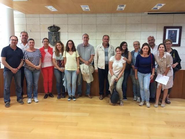 Technical of the Tourist Offices of the Region of Murcia Totana visit in order to meet its various tourism resources