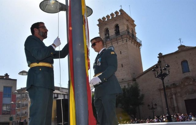 Totana will again celebrate on October 12 the institutional act of homage to the Flag of Spain