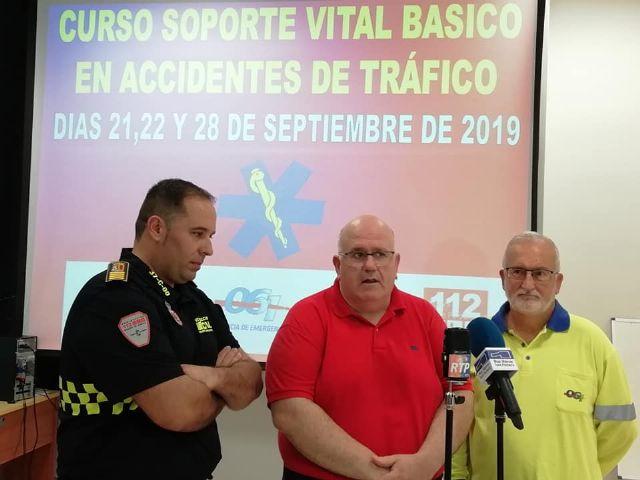 Protección Civil imparte un curso de soporte vital básico en accidentes de tráfico - 1, Foto 1