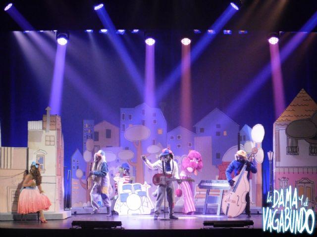 La Dama y el Vagabundo, el mejor musical infantil del año, el lunes 7 en las Fiestas Patronales de Puerto Lumbreras - 1, Foto 1