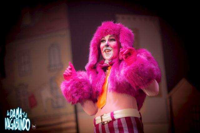 La Dama y el Vagabundo, el mejor musical infantil del año, el lunes 7 en las Fiestas Patronales de Puerto Lumbreras - 2, Foto 2