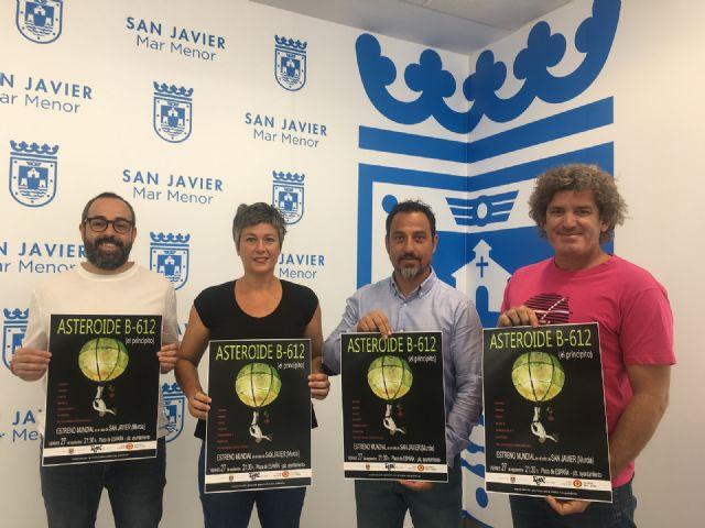 San Javier acoge el estreno mundial del nuevo espectáculo de teatro aéreo del Grupo Puja! - 1, Foto 1
