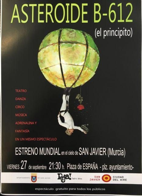 San Javier acoge el estreno mundial del nuevo espectáculo de teatro aéreo del Grupo Puja! - 2, Foto 2