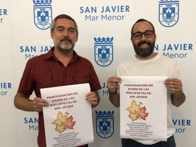 La Biblioteca de San Javier estrena temporada de otoño - 1, Foto 1