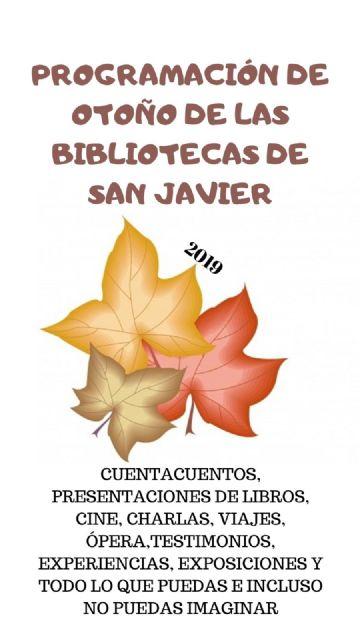 La Biblioteca de San Javier estrena temporada de otoño - 2, Foto 2