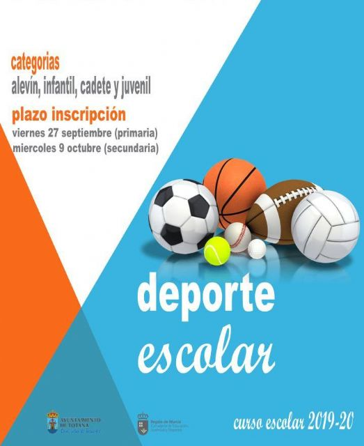 They summon the program of Physical Activity and Sport in School Age for the course 2019/20 in different categories and numerous disciplines, Foto 2