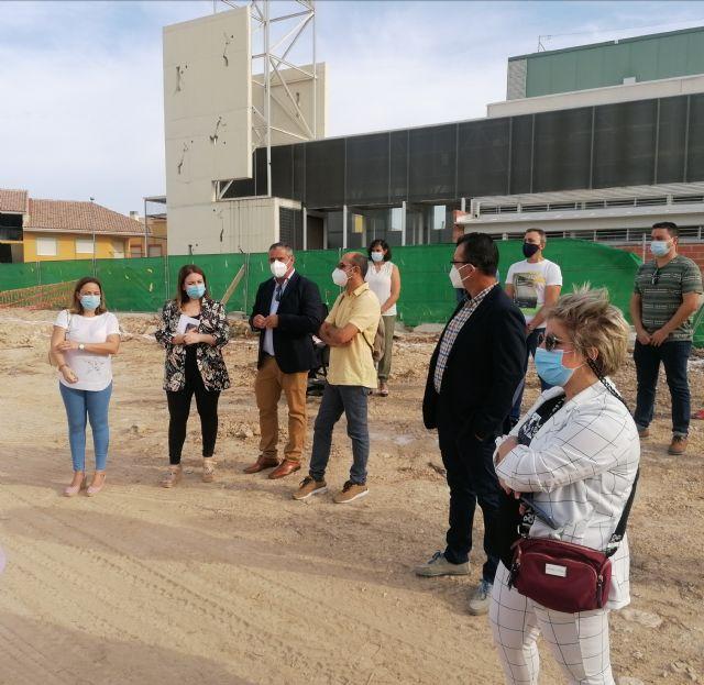 Educación comienza las obras del nuevo colegio Pascual Martínez Abellán de Pliego - 1, Foto 1
