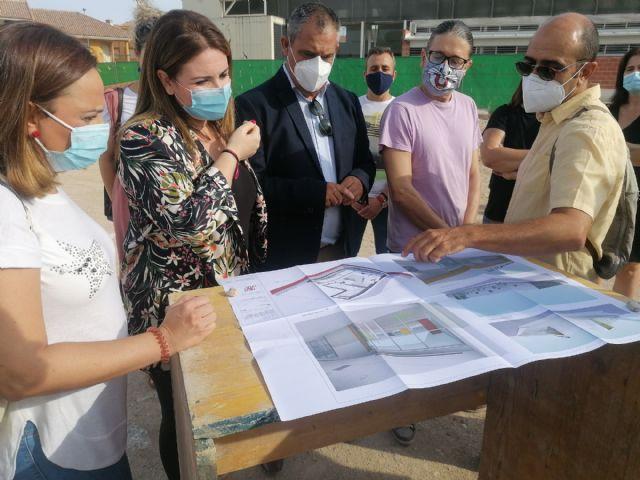 Educación comienza las obras del nuevo colegio Pascual Martínez Abellán de Pliego - 2, Foto 2