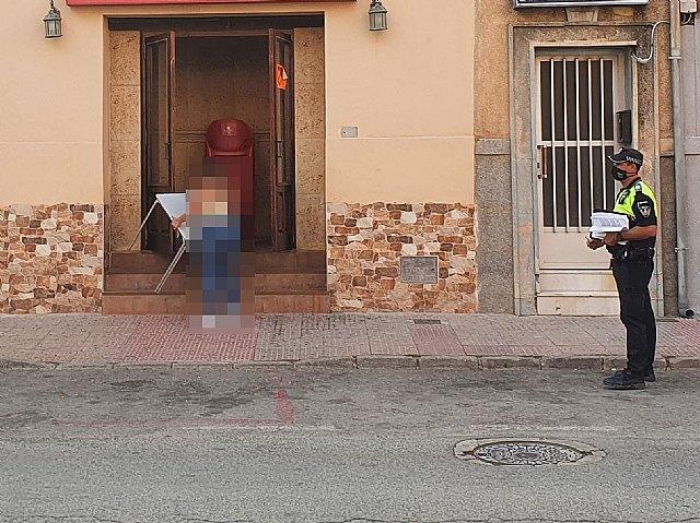 El Ayuntamiento de Mula suspende cautelarmente la autorización de terraza a un local - 1, Foto 1