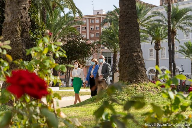 El Ayuntamiento doblará el gasto en zonas verdes ´para conseguir los jardines que merece Cartagena´ - 1, Foto 1