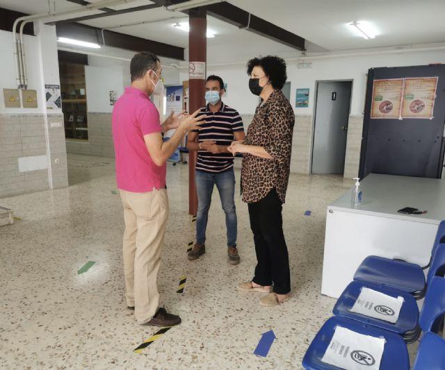 El Ayuntamiento de Puerto Lumbreras acondiciona y mejora la acústica de un aula de la Escuela Oficial de Idiomas en Puerto Lumbreras - 1, Foto 1