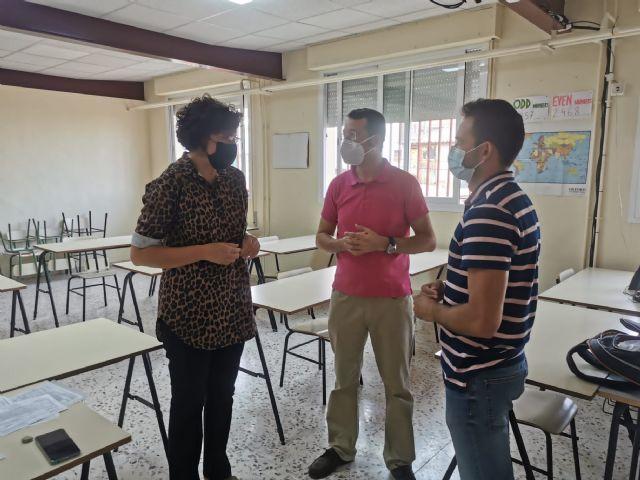 El Ayuntamiento de Puerto Lumbreras acondiciona y mejora la acústica de un aula de la Escuela Oficial de Idiomas en Puerto Lumbreras - 2, Foto 2