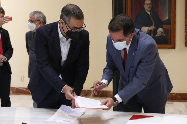 El Ayuntamiento y la Universidad de Murcia crean la Cátedra de Agenda Urbana y Desarrollo Estratégico Local - 1, Foto 1
