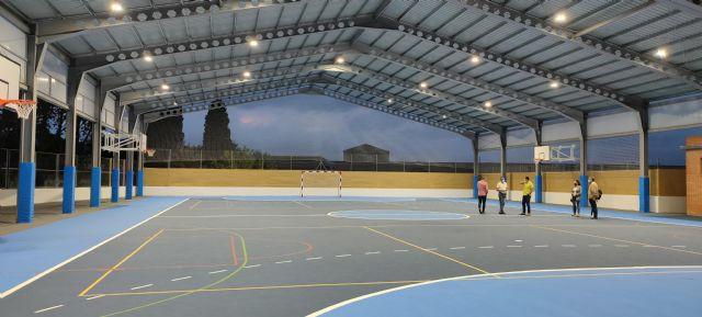 Finaliza el proyecto de la pista cubierta del Colegio Rodenas - 1, Foto 1